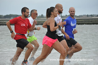Photos Course du Run, Tatihou, Saint Vaast la Hougue (50), Dimanche 29 juillet 2018